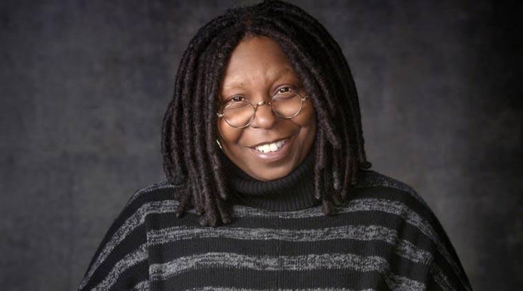 Whoopi Goldberg has made a formal request to appear in a Wes Anderson film - by handing her resume to actor Jason Schwartzman.