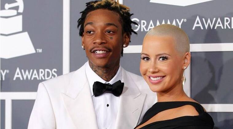 Amber Rose, Wiz Khalifa, Model Amber Rose, Rapper Wiz Khalifa, Wiz Khalifa see You Again, Amber Rose Running Russell Simmons, Wiz Khalifa Albums, Wiz Khalifa Amber Rose Divorce, Wiz Khalifa Amber Rose Marriage, Wiz Khalifa Amber Rose Child, Entertainment News