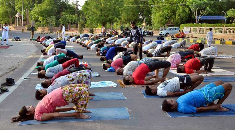 Yoga Day, International Yoga Day, June 21, RSS, Mizoram, Mizoram Yoga Day, Yoga day Mizoram, RSS Yoga Day, Rotluangliana, Yoga Day News, RSS news, Mizoram News, India News, Indian express