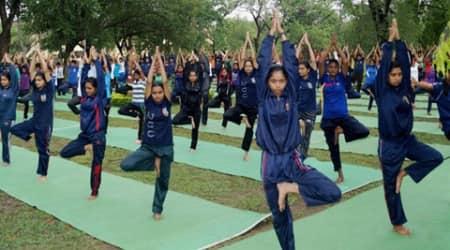 yoga, yoga day, yoga news, mumbai yoga, ugc, university grants commission, yoga college, mumbai yoga day, india news