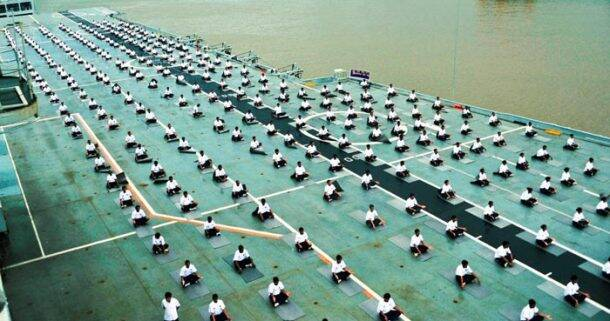 yoga-navy-ship-deck