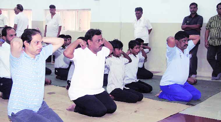 international yoga day, yoga day, yoga in school, school yoga, yoga curriculum, mumbai news, city news, local news, maharashtra news, Indian Express