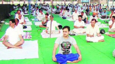 Tricity gears up for YogaDay