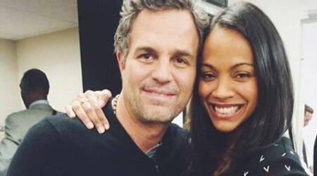 Zoe Saldana seeks parenting advice from Mark Ruffalo