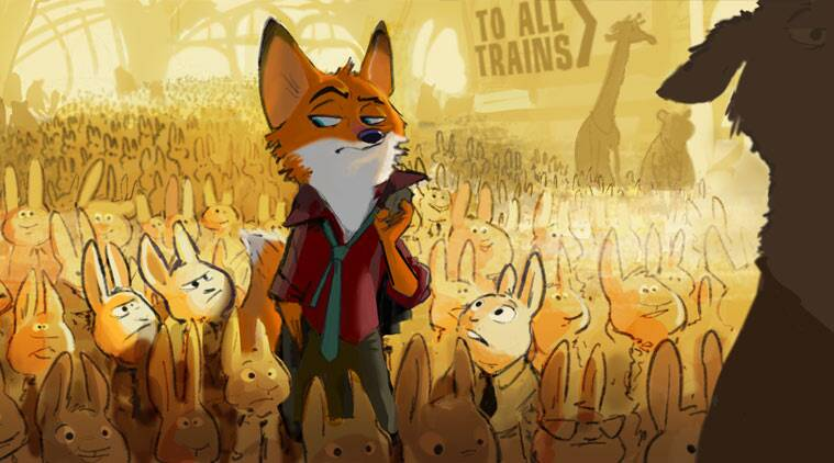 First Look Of Disney S Zootopia Released Entertainment News The Indian Express