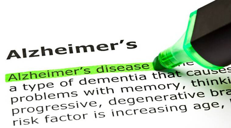 The most common form of DEMENTIA