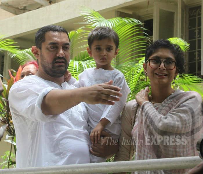 Aamir Khan, Azad Khan, Kiran Rao