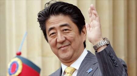 Shinzo Abe, Japan Shinzo Abe, Shinzo Abe Japan, Indian Ocean, Japan army, World War II, Japan US, NDA government, UPA defensiveness, Indian express, express column