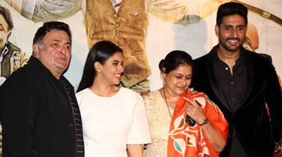 Abhishek Bachchan, Rishi Kapoor, Asin, Supriya Pathak launch 'All Is Well' trailer