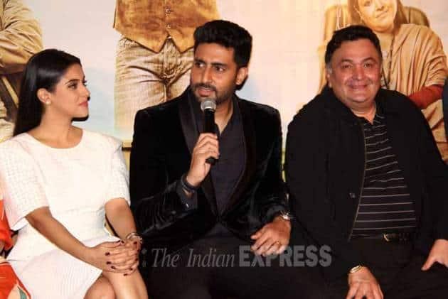 Abhishek Bachchan, rishi kapoor, Abhishek Bachchan all is well, Abhishek Bachchan rishi kapoor, Abhishek Bachchan all is well movie, rishi kapoor all is well, rishi kapoor all is well movie