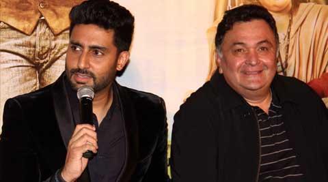 Abhishek Bachchan, Abhishek Bachchan all is well, Abhishek Bachchan rishi kapoor, Abhishek Bachchan all is well movie, rishi kapoor all is well, rishi kapoor all is well movie