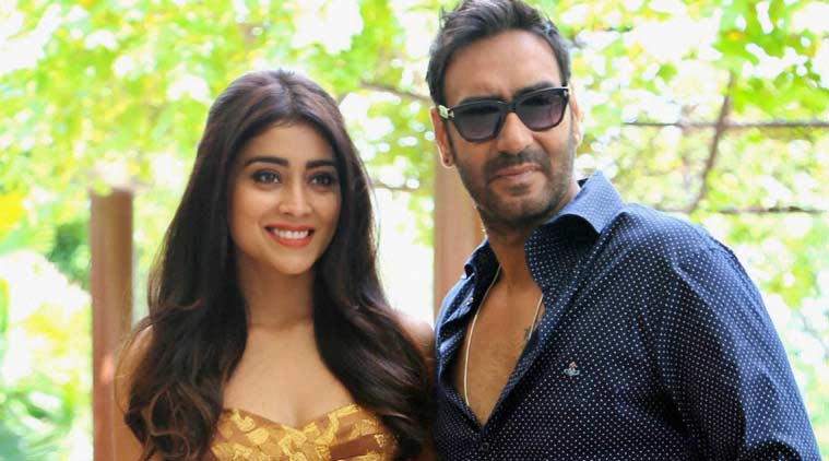 Image result for ajay devgan with shreya saran
