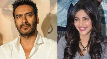 "Shruti Haasan to star with Ajay Devgn in ""Baadshaho"""