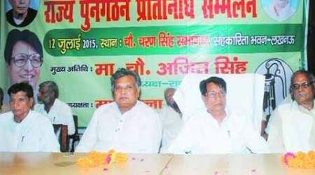 Ajit Singh calls on those campaigning for division of UP to cometogether
