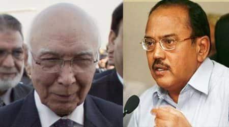 india pakistan, india pakistan nsa talks, sartaj aziz, ajit doval, india news, indo pak talks, nation news, pakistan hurriyat, hurriyat india
