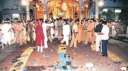 Ajmer blast, ajmer sharif, ajmer dargah blast, ajmer dargah bombing, ajmer dargah bombing case, ajmer dargah blast case, ajmer sharif blast, ajmer sharif blast case, nia, special nia court, nia court, nia court convicts ajmer dargah blast accused, ajmer dargah blast convicts awarded life sentence, india, india news, new delhi, delhi, delhi news, jaipur, jaipur news, ajmer, ajmer news, khwaja moinuddin chisti, ajmer sharif news, indian express news