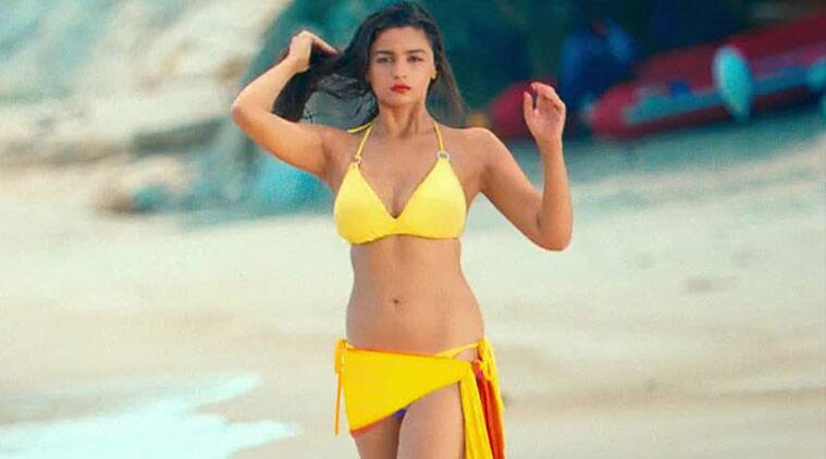 alia bhatt, actress alia bhatt, alia bhatt bikini, alia bhatt shaandaar, shaandaar, udta punjab, alia bhatt shahid kapoor, alia bhatt bikini in movie, entertainment news