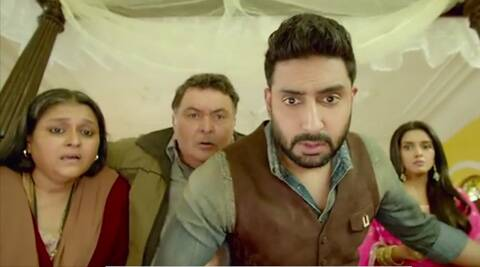 Abhishek Bachchan, Rishi Kapoor, Asin, All is Well, actor Abhishek Bachchan, Abhishek Bachchan Rishi Kapoor, Abhishek Bachchan in All is well, Abhishek Bachchan Movies, actor Rishi kapoor, Rishi Kapoor in all is well, All is well trailer, All is well trailer million views, All is well movie, All is well 2015, all is well release, entertainment news
