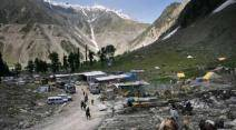 Amarnath yatra, Amarnath journey, amarnath pilgrims, amarnath base camp,jammu kashmir amarnath, baltal base camp amarnath, amarnath shrine, amarnath cave, amarnath journey route, amarnath tents, amarnath news, india news, J&K news, jammu kashmir news, amarnath photos, amarnath yatra photos