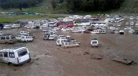Cloudbursts in Kashmir valley kill over 10 in three weeks