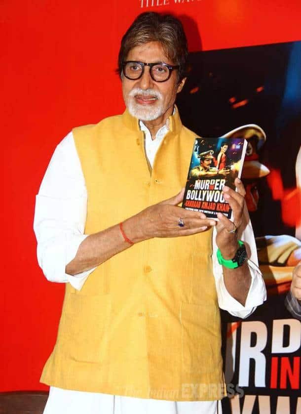 Amitabh Bachchan, Shadaab Khan, Ajmad Khan's son