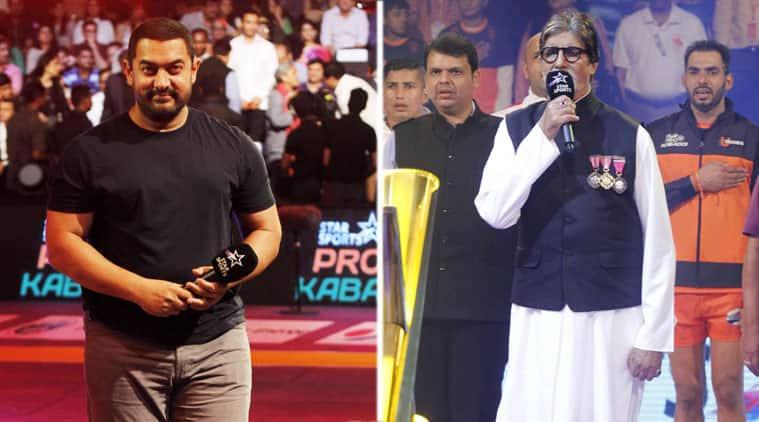 amitabh bachchan, aamit khan, pro kabaddi league, big b, entrtainment news