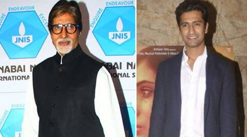Amitabh Bachchan praises Vicky Kaushal's performance in 'Masaan'