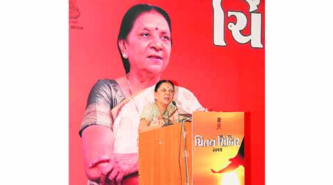 Anandiben Patel, Anandiben in mehsana, patidar community, hardik patel, patidar, patidar agitation, ahmedabad news, indian express