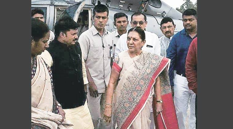 CM Anandiben Patel,  Anandiben Patel,  UNICEF, malnutrition, UNICEF report, adopt malnourished children, UNICEF's Rapid Survey , ahmedabad news, Gujarat news, Indian Express