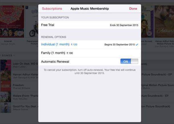 Apple Music, Apple Music subscription, Apple Music features, Apple Music cancel, Apple Music cancel subscription, Apple Music price, Apple Music price in India, Apple Music India price, Pricing in India, Apple Music how to get, How to get Apple Music, Technology, technology news, Apple iOS 8.4, iOS 8.4 update