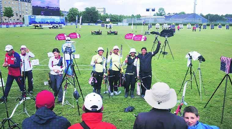 archery, archery india, india archery, deepika kumari, rio olympics, 2016 olympics, 2016 rio olympics, rio 2016 olympics, olympics, olympics news, archery news, sports news