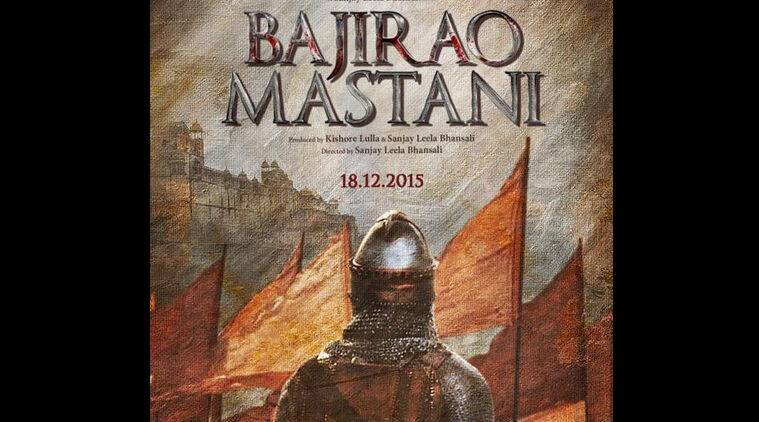 Bajirao Mastani, Bajirao Mastani poster, Ranveer Singh, Deepika padukone