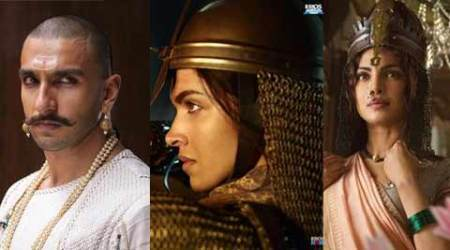 'Bajirao Mastani' first look: Ranveer looks royal, Deepika, Priyanka tough as warrior queens