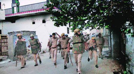 Hindus, Muslims pelt stones at each other as violence erupts yet again inBallabhgarh