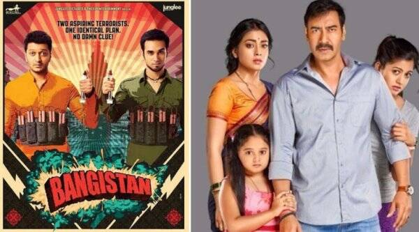 Riteish Deshmukh, Ajay Devgn, Riteish Deshmukh Bangistan, Ajay Devgn Drishyam, Jacqueline Fernandez, Shriya Saran, Tabu, Pulkit samrat, Bangistan, Drishyam, Bangistan Drishyam Clash, Riteish Deshmukh Bangistan Movie, entertainment news