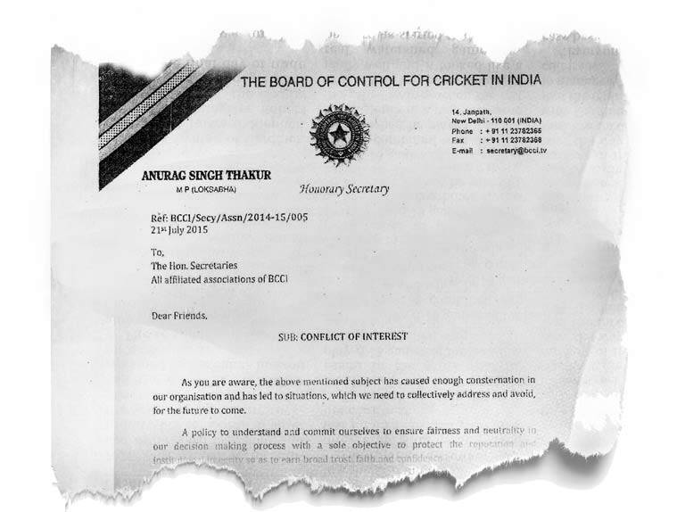 BCCI, IPL scandal, Lodha Committee, Anurag Thakur, BCCI conflict, Cricket news, Sports news