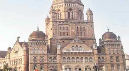 BMC polls, Brihanmumbai municipal corporation, municipal polls, mumbai civic polls, BJP-Shiv Sena, BJP-Sena, bjp sena spat, bjp shiv sena spat, BMC polls news, mumbai news, indian express news