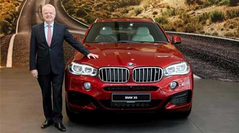 BMW X6 facelift launched at Rs. 1.15 crore