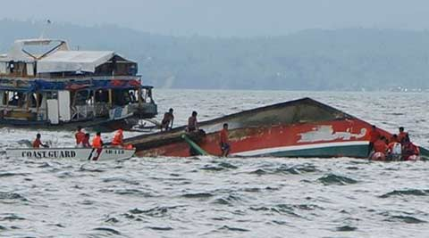 36 dead, 19 missing as ferry capsizes in Philippines
