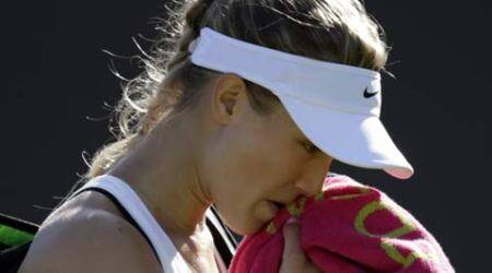 Bouchard breaks all-white dress code, wears black bra