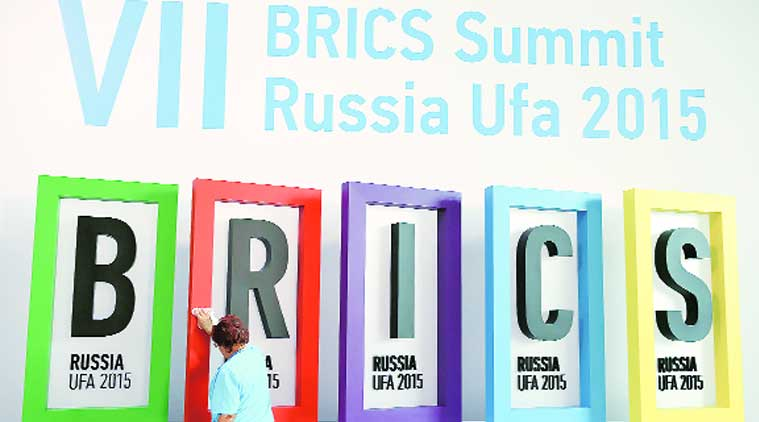 BRICS, BRICS bank, BRICS bank recruitement, central banks BRICS, foreign exchange reserve pool, BRICS bank, BRICS countries, BRICS trade, BRICS local currency trade, seventh BRICS Summit, Indian express, business news