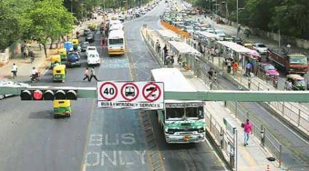 Delhi bus corridor, BRT corridor, bus rapid transit, AAP government, arvind kejriwal, indian express editorial, ie editorial