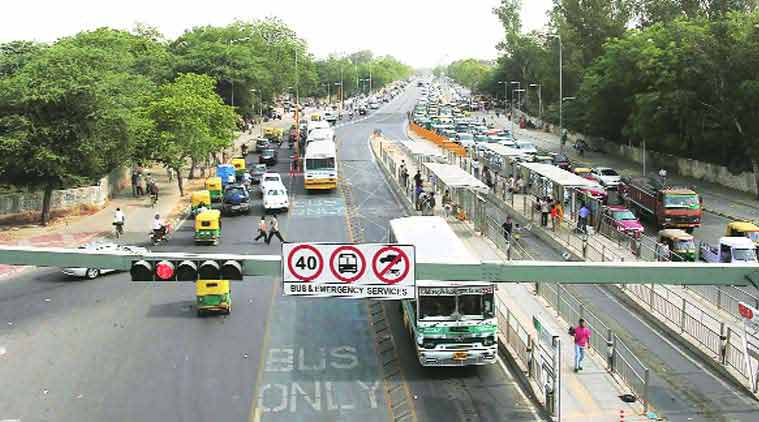 Delhi bus, BRT corridor, brt,  arvind kejriwal, delhi brt corridor, bus rapid transit, Delhi bus corridor, BRT corridor,  bus rapid transit, AAP government, arvind kejriwal, ie editorial, delhi, delhi road, latest news, delhi govt, aap govt, delhi news, indian express editorial