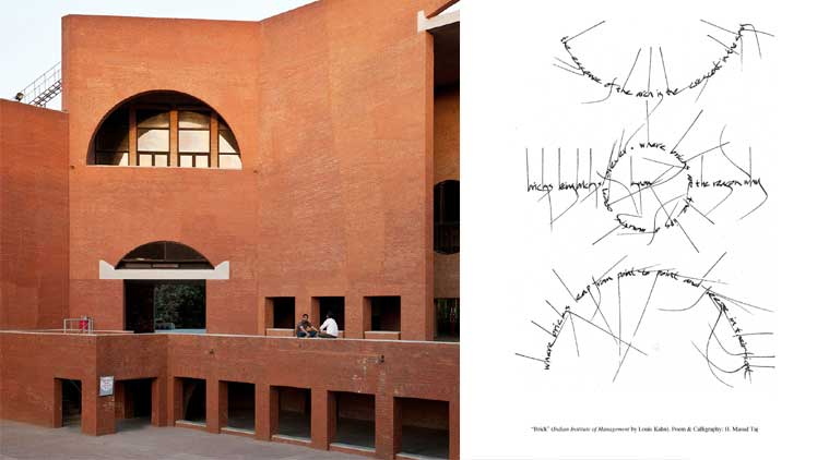 Louis Kahn'sIIM-A building and the poem thatTaj wrote, inspired by the building