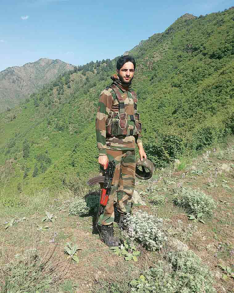 """Burhan Muzaffar Wani, 21, is the commander of the group of new militants. A """"hardcore militant"""" who carries a bounty of Rs 10 lakh on his head, Burhan has also spearheaded the social media campaign of the young militants."""