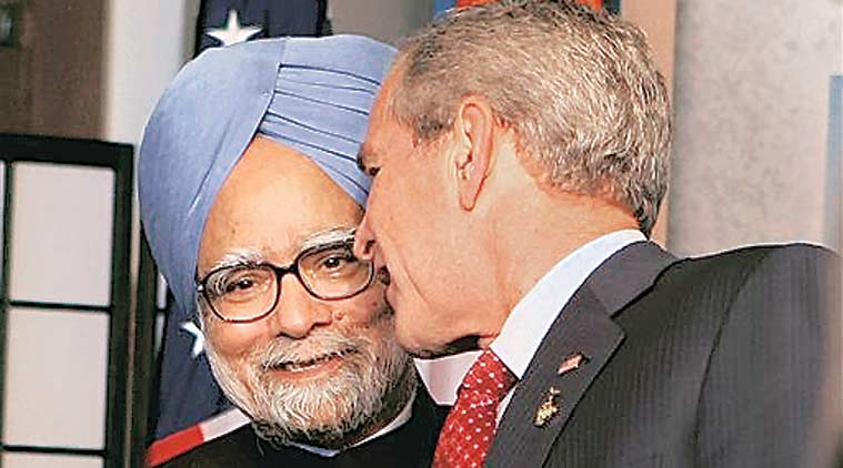 India-US nuclear deal, Manmohan Singh, Indo-US civil nuclear deal, George Bush, india news, nation news