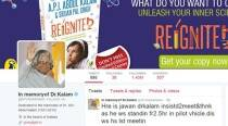 In memory of Dr Kalam, his Twitter account will remain alive