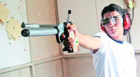 For Azerbaijan World Cup in Aug, Panchkula shooter going great guns, trains in Delhi