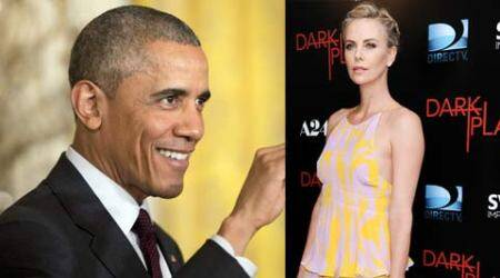 Charlize Theron, Barack Obama