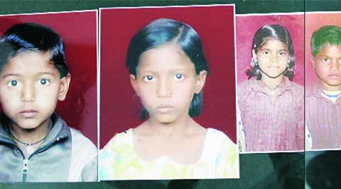missing children, children skeleton, missing children skeleton, delhi news, indian express